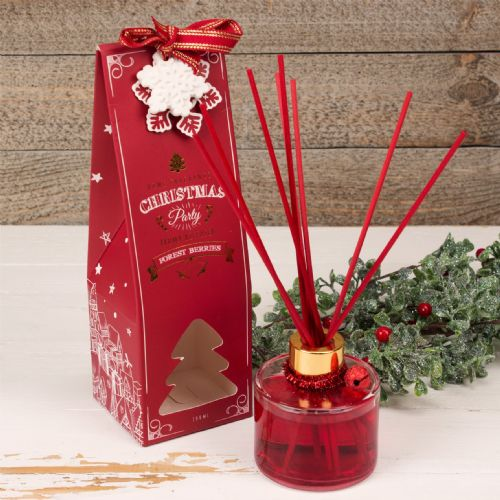 Christmas Fragranced Reed Diffuser 'Forest Berries' Seasonal Packaging Home Fragrance